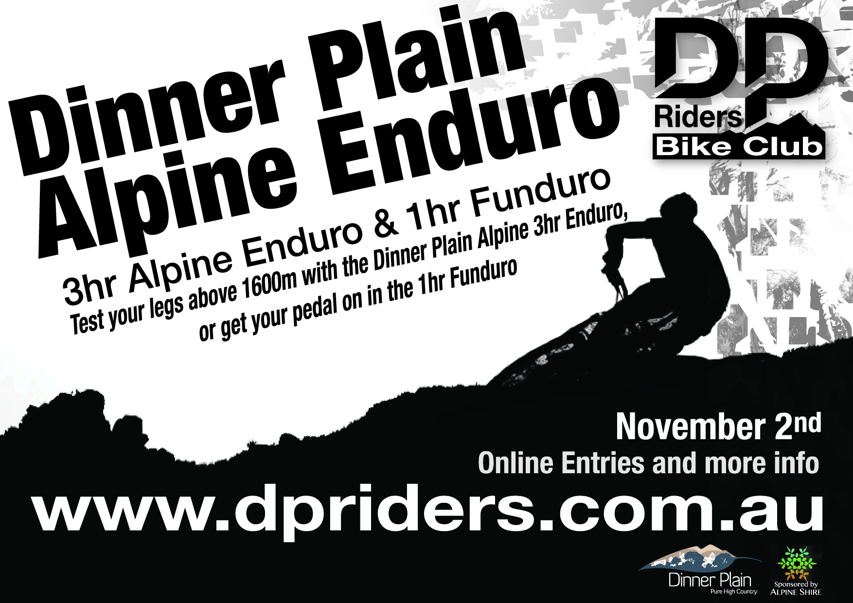 Dinner Plain Alpine Enduro 2014 Poster